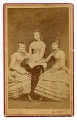 Em. Tich, r - Three Young Ladies (josefnovak33) Tags: ladies three young cdv em r tich