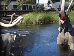 La Brea Tar Pits - Los Angeles, California (3) (ashabot) Tags: california history animals losangeles ancient science elephants museums lacma tarpits labreatarpits