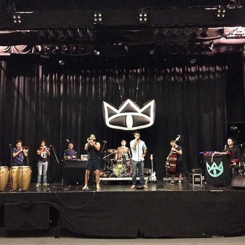 A sneaky shot from soundcheck in Oslo! #tcedoeuro #andietheroadie