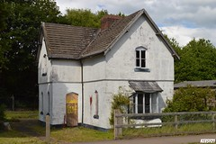Old Derelict House (2( (kev thomas21) Tags: old uk england urban house green abandoned grass cheshire bluesky explore gb disused derelict runcorn frudsham