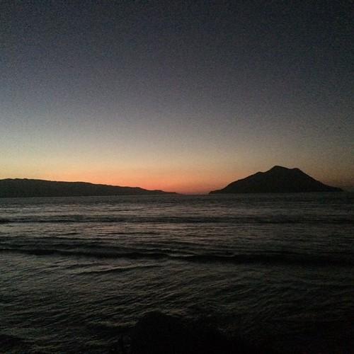 Sunset from Kepa Island