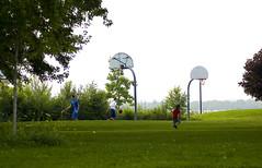 morning hoops2 (Lou Musacchio) Tags: canada sports basketball exercise quebec montreal recreation hoops verdun shootinghoops lasalleboulevard verdunboardwalk