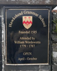 "Hawkshead Grammar School Sign • <a style=""font-size:0.8em;"" href=""http://www.flickr.com/photos/9840291@N03/14717171381/"" target=""_blank"">View on Flickr</a>"
