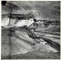Yarmuk Bridge No. 2 (APAAME) Tags: archaeology israel ancienthistory palestine middleeast jordan syria airphoto oblique aerialphotography golanheights tna thenationalarchives transjordan hejazrailway camera:make=canon exif:make=canon aerialarchaeology hedjazrailway nahralyarmuk exif:lens=ef24105mmf4lisusm camera:model=canoneos1dsmarkiii exif:model=canoneos1dsmarkiii exif:aperture=16 historicalimagery jezreelvalleyrailway nahalyarmuk yarmukriver exif:focallength=35mm exif:isospeed=100