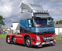WH Malcolm Volvo FM KX14LKN at Truckfest Scotland 2014 (andyflyer) Tags: transport lorry truk haulage truckfest hgv volvofm roadhaulage whmalcolm wgaon truckfestscotland truckfest2014 kx14lkn truckfestscotland2014 2014truckfest