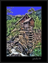 Crystal Mill CO 2000-1-001_edited-1 F (the Gallopping Geezer '5.0' million + views....) Tags: old mountains building mill abandoned film rural canon colorado 2000 crystal decay scenic scene structure historic mining faded worn weathered ladder marble wilderness decayed geezer rockie powerhouse corel photogenic sheepmountain