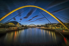 Newcastle and Geatshead quayside (saleem shahid) Tags: