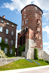 The Sandomierska Tower_5061 (hkoons) Tags: city tower castle europe king country nation royal poland krakow polish government krakw cracow ruler royalty castlehill easterneurope wawelcastle wawelhill sandomierskatower