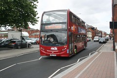IMG82540 GSC-Reds 1572 HW63FGN Salisbury 1 Aug 14 (Dave58282) Tags: buses coast south go british reds hw63fgn