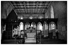 Blanchland Abbey . (wayman2011) Tags: bw architecture canon buildings churches countydurham blanchland weardale canon50d