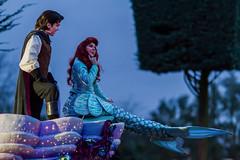Ariel & Eric (DLP Online) Tags: france ariel eric parades disney characters princesses littlemermaid disneylandparis dlp disneylandresortparis dlrp disneylandpark onceuponadreamparade