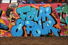 Four 8 Four - King Robbo RIP by Diet (Alex Ellison) Tags: urban graffiti boobs rip halloffame graff diet trellicktower hof westlondon pfb 484 wrh werockhard kingrobbo teamrobbo four8four
