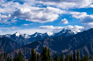 Stok Kangri viewed from Leh