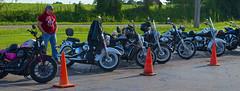 Standing Guard (jpetcoff) Tags: log cabin guard bikes harley macedonia motorcycle davidson