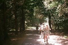(spitting venom) Tags: film nature bike 35mm nikon path yosemite yosemitenationalpark yosemitevalley sierranevadas bikeriding nikonfm bikeriders