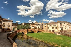 Puente medieval - Molina de Aragn (Jos Ferrando) Tags: ro agua o guadalajara paisaje 1740mm molinadearagn canon6d
