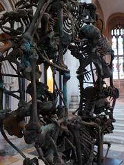 Crucible 2, Gloucester Cathedral 097 (jacquemart) Tags: sculpture bronze pangolin ticktock stevengregory crucible2gloucestercathedral
