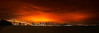Burn Out (Andrew Louie Photography) Tags: morning bridge out lights golden bay san francisco cityscape pano sunday panoramic burn midnight today