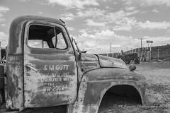 stalled (Michael Kenan) Tags: road arizona rural truck desert antique az sonoran yarnell