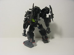 BH-02 Ground Assault Unit (ExclusivelyPlastic) Tags: robot factory lego hero bionicle mecha mech