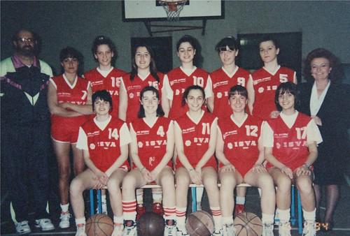 ISVA CB Femminile 93-94