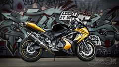 GSX-R1000 - Graffiti Desaturated. (jasoncstarr) Tags: lightpainting photoshop canon graffiti motorcycles bikes motorbike sportbike suzuki tamron 1000 gsx gsxr superbike sportsbike armidale 2470mm lightpainted gixxer r1000 70d canoneos70d tamron2470mmf28lens