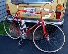 Mercian Vincitore Road Bike (moonm) Tags: vintage cycling steel bikes bicycles lugs mercian fancylugs