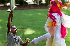 Child of Light outtakes - My favorite <3 (Kristin Brenemen) Tags: pink atlanta light costume child princess cosplay fairy aurora convention sword crown con dragoncon ubisoft atlantaga childoflight dragoncon2014
