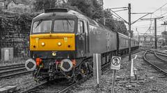 Class 47786 WCRC at Preston 12.09.2014 Retro Shoot (Roche37Clagmaster) Tags: from uk england west coast north railway class retro lancashire company preston past blast the a wcrc 47786 photoplug 12092014