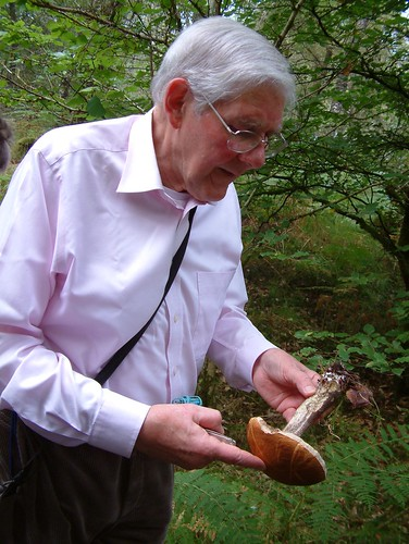 My dad, plus mushroom friend