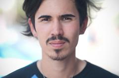 Adam. (Daifuku Sensei) Tags: portrait toronto adam face downtown strangers stranger mustache bloorstreet bathurststreet cadid 85mmf14 nikond300 banderaca