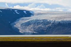 La Curva del Langjokull (Roveclimb) Tags: travel lake holiday snow ice river lago iceland fiume glacier neve viaggio hielo vacanza ghiaccio langjokull ghiacciaio islanda kjolur hvitarvatn