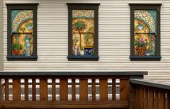 Arty Windows (gordeau) Tags: windows three artistic gordon railing ashby gordeau