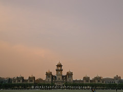 Islamia College University Peshawar. (erfanfarrukh) Tags: old pakistan college yellow landscape university peshawar 2014 kpk islamia