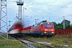 86 019 (Rivo 23) Tags: station electric train rail railway db class bulgaria locomotive 86 freight 019 schenker samuil exdsb