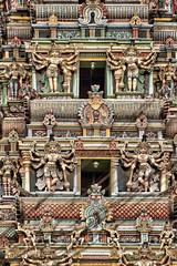 """MADURAI (DTAIL D'UN GOPURAM"""" (pierre.arnoldi) Tags: madurai tamilnadu inde sadu gopurams"""