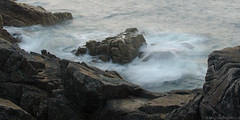 Ouessant - September 2014 (saM=)) Tags: ocean sunset sea france detail water movement brittany rocks celtic sour liquid finisterre ouessant bretagna ushant