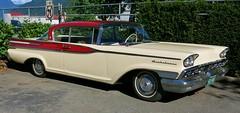 1959 Monarch II Richelieu 2-Door Hardtop (Custom_Cab) Tags: door red 2 two white canada ford hardtop car monterey mercury mark canadian ii monarch tone cruiser mk 1959 markii richelieu 2door