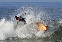 Surfers Ile de R (bcmng) Tags: sunset france beach sport frankreich surf sonnenuntergang surfer wave balance watersports iledere atlanticcoast sportler sportman wellenreiter frenchatlanticcoast plagedugrosjonc boisplageenr