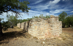 Stone Commissary Ruins (BOB WESTON) Tags: jonescountytexas fortphantomhill