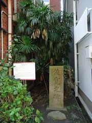 Just There (toranosuke) Tags: stele shunkan 石碑 俊寛