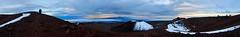 360 Panorama - Summit of Mauna Kea II (Emily Miller Kauai) Tags: panorama snow hawaii patrick summit bigisland maunakea observatories cindercone