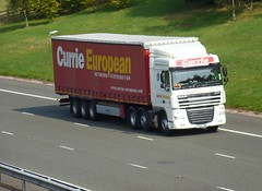 PX63 YMG (Cammies Transport Photography) Tags: truck european lorry currie flyover daf xf m74 lockerbie px63ymg
