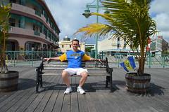 Ryan Janek Wolowski, visting the port of Bridgetown, Barbados (RYANISLAND) Tags: blue beach yellow island islands 14 country tropical tropicalisland barbados tropic caribbean bridgetown lesser tropics bearded antilles sovereign 2014 caribbeansea barbadian blueandyellow caribbeanisland lesserantilles bridgetownbarbados barbadians barbadosbridgetown thebeardedones portofbridgetown sovereignislandcountry