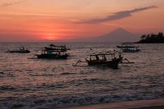 Senggigi Beach Sunset (markingramphoto) Tags: ocean sunset sea bali seascape indonesia landscape island islands seaside harbour mark lombok ingram infocus highquality markingram