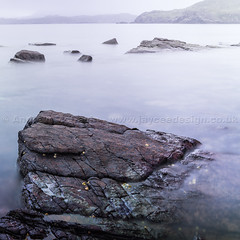 Slow exposure rocks (amcgdesigns) Tags: misty scotland rocks northwest unitedkingdom slowshutter lochinver assynt eos7d culkeinstoer andrewmcgavin culkeinsept2013 andrewmcgavin