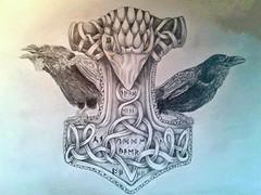 Mjllnir (4) (fiore.auditore) Tags: thor mythology mythologie mjlnir asatru mjllnir