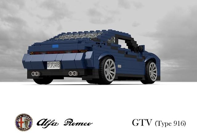 auto italy car model italian lego stuck fiat render group alfa romeo gtv 1994 gt coupe challenge 92 1990s 90s cad lugnuts povray pininfarina 916 moc ldd miniland lego911 stuckinthe90s