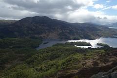 view from Ben A'an (Sean Munson) Tags: mountain lake water landscape scotland highlands hiking loch trossachs benvenue scottishhighlands lochkatrine queenelizabethforestpark benaan