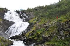 Wodospad Kjossfossen | Kjossfossen waterfall
